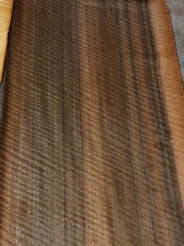 Curly Queensland Walnut veneer